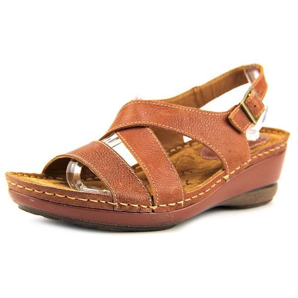 Montana Women's 'Arizona' Brown Leather Sandals