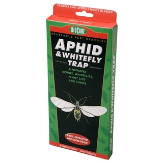 Bio Care Naturals S1501 BioCare Aphid & Whitefly Traps 4-count