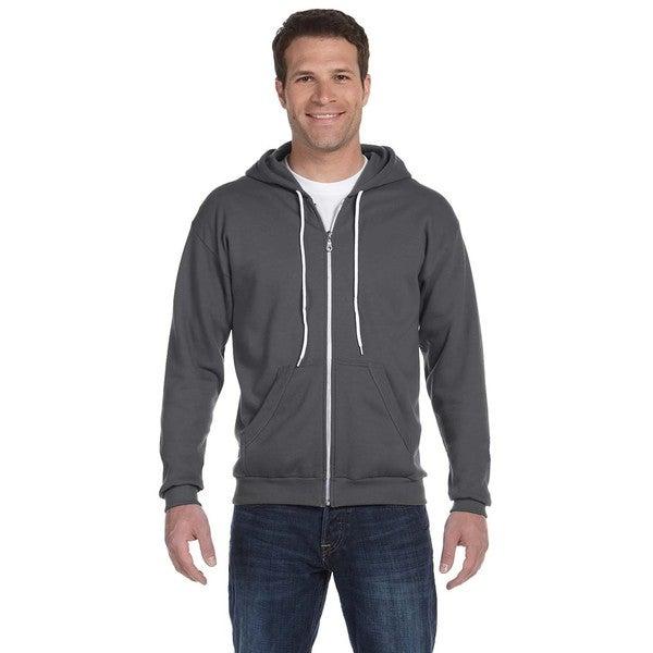 Men's Big and Tall Full-Zip Hooded Charcoal Fleece 20015951