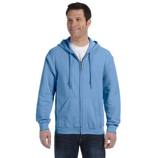 50/50 Men's Big and Tall Full-Zip Carolina Blue Hooded Jacket