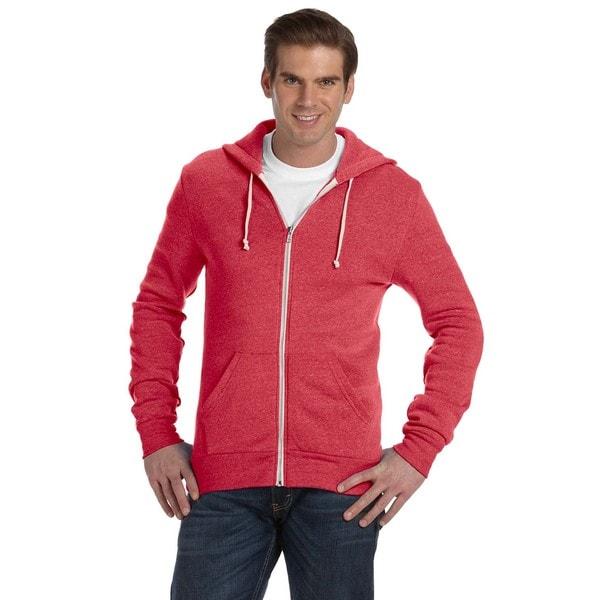 Rocky Men's Eco True Red Zip Hoodie (XL)