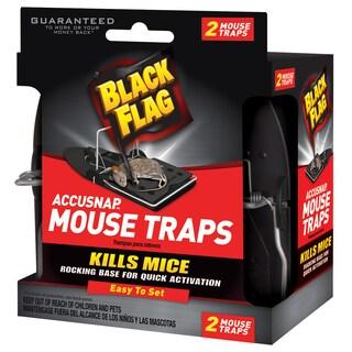 Black Flag 11050 Accusnap Mouse Traps 2-count