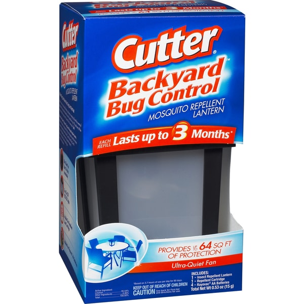 Cutter 96176 Backyard Bug Control Mosquito Repellent Lantern
