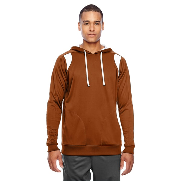 Elite Men's Sport Burnt Orange/White Big and Tall Performance Hoodie 20016631