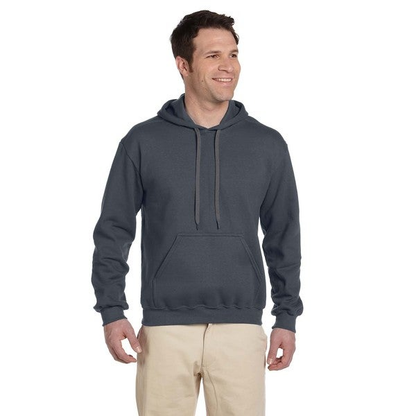 Men's Ringspun Hooded Charcoal Sweatshirt