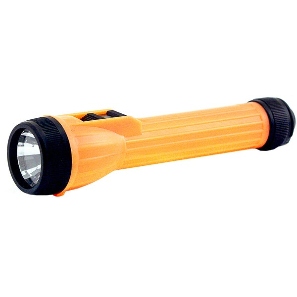 GreatLite 32039 Orange High Visibility Plastic Flashlight