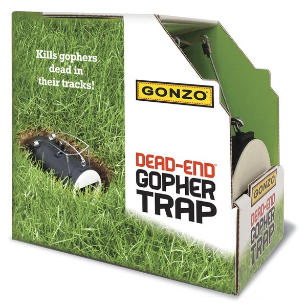 The Gonzo-Gopher Trap 5001 Gonzo Gopher Trap
