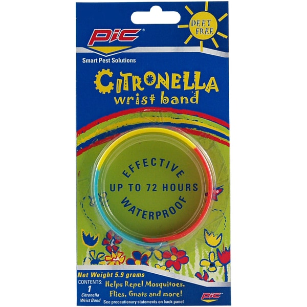PIC BAND Citronella Wrist Band