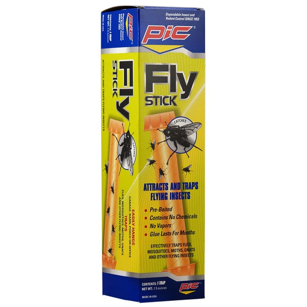 PIC FSTIK-W 1-1/2-ounce Fly Stick