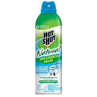 Hot Shot 95843 14-ounce Natural Ant & Roach Killer
