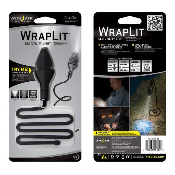 Nite Ize WLT02-07-01 Wrap It LED Utility Light