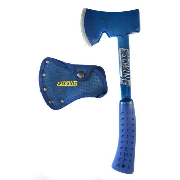 """Estwing E6-25A 14"""" Estwing Blue Sportsmans Axe"""