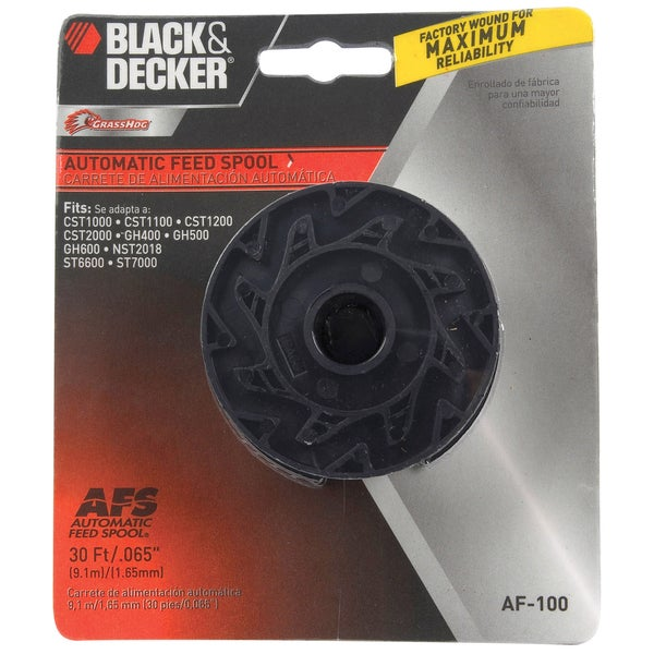 Black & Decker Lawn & Garden AF100 String Trimmer Replacement Spool