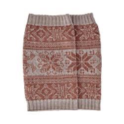 Women's San Diego Hat Company Intarsia Infinity Knit Scarf BSS1687 Camel
