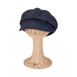 Women's San Diego Hat Company Newsboy Cap CTH8048 Denim