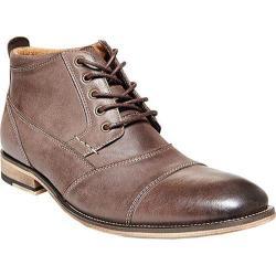 Men's Steve Madden Jabbar Boot Dark Brown Leather