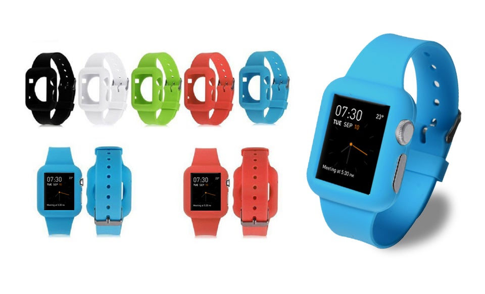 Silicone 38-millimeter/42-millimeter Sport Band for Apple Watch