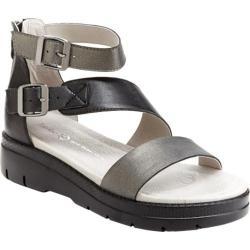 Women's Jambu Cape May Sandal Gunmetal/Black Nappa Leather