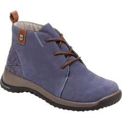 Women's Jambu Rossella Chukka Boot Denim Blue Nubuck/Textured Wool