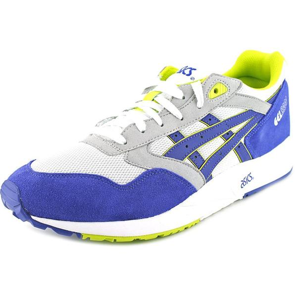 Asics Men's Gel Saga Blue/White Synthetic Athletic Shoes