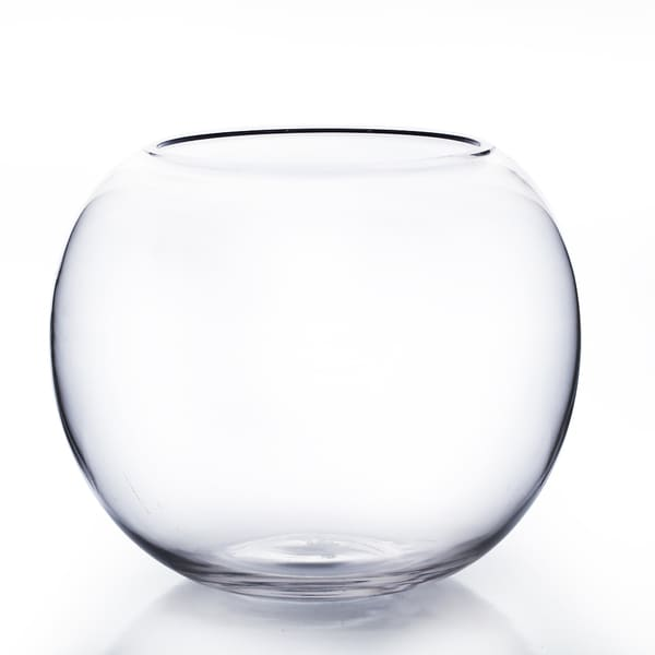 8-inch Utility Bubble Bowl Vase