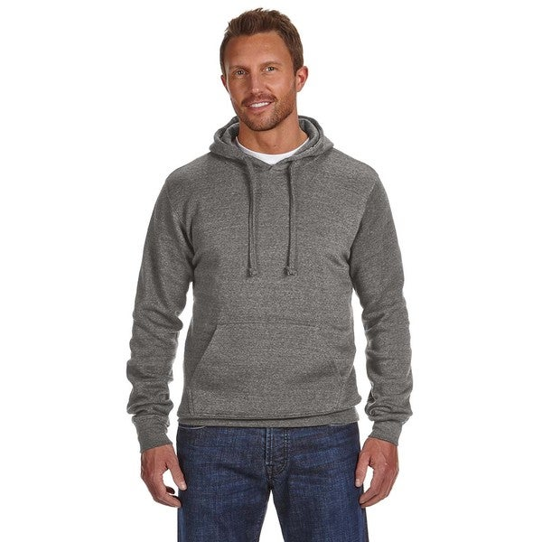 Cloud Men's Big and Tall Pullover Fleece Hood Charcoal Heather Sweatshirt