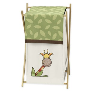 Sweet Jojo Designs Jungle Time Collection Laundry Hamper