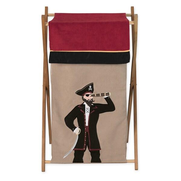 Sweet Jojo Designs Pirate Treasure Cove Collection Laundry Hamper