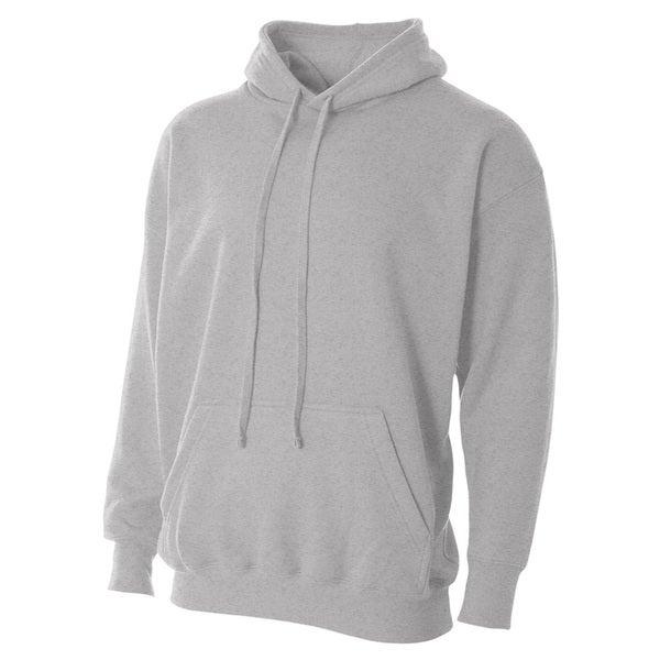 Men's Fleece Heather Grey Hoodie 20024860