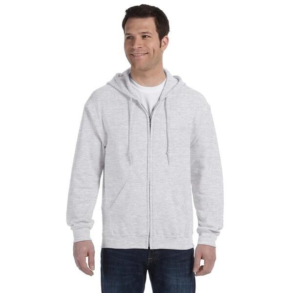 50/50 Men's Full-Zip Ash Hood (XL)