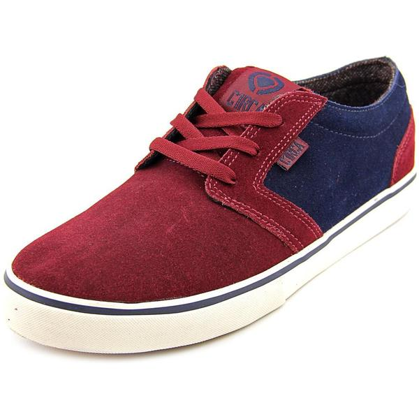 C1RCA Men's Hesh Red/Blue Regular Suede Athletic Shoes