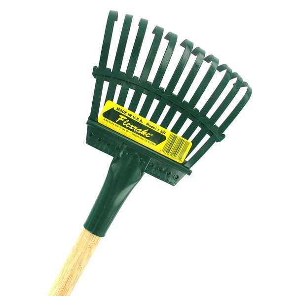 Flexrake 3W 48-inch Handle 8-inch Steel Head Shrub Rake