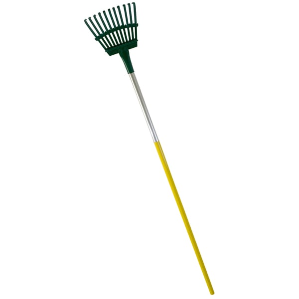 Flexrake 3A 8-inch Steel Head Shrub Rake With 48-inch Aluminum Handle
