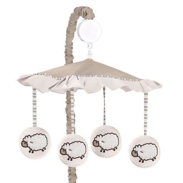 Sweet Jojo Designs Little Lamb Collection Musical Mobile