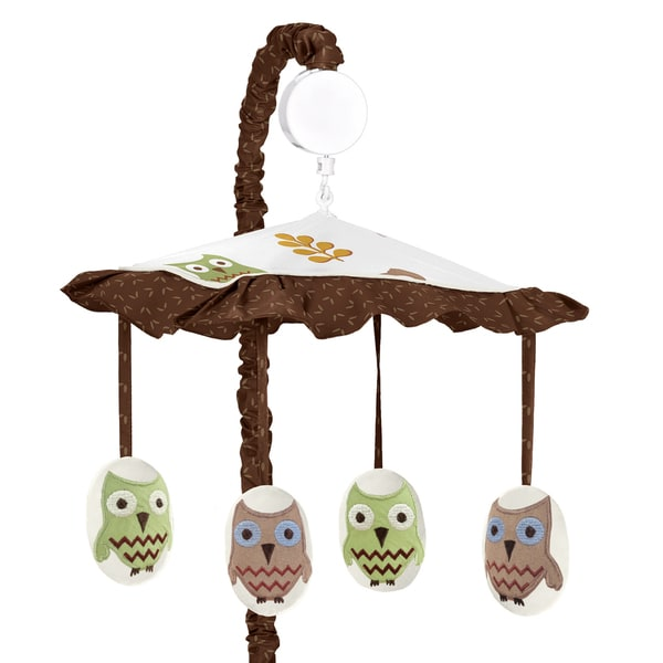 Sweet Jojo Designs Night Owl Collection Musical Mobile