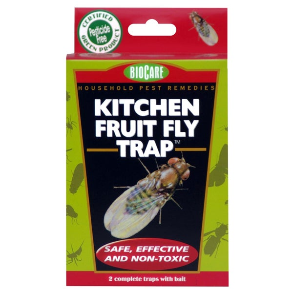 Bio Care Naturals S415 BioCare Kitchen Fruit Fly Trap 2 Pack