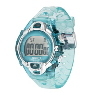 RBX Sport Digital Blue Rubber Strap Watch