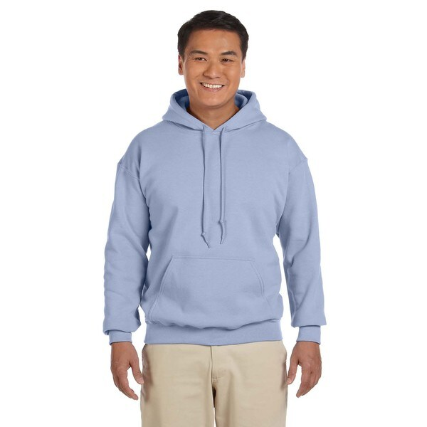 Men's 50/50 Light Blue Hood (XL)