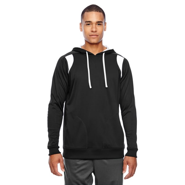 Elite Men's Performance Black/White Hoodie(S, XL)