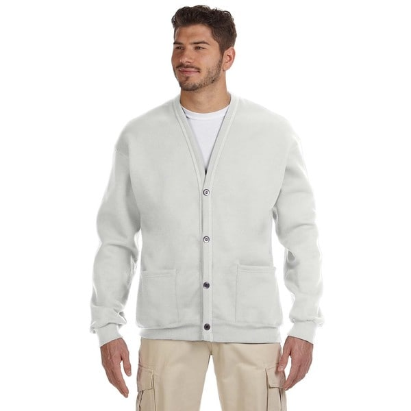 50/50 Men's Ash Nublend Cardigan