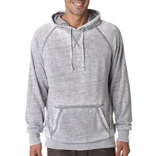 Vintage Men's Zen Fleece Men's Pullover Hood Cement Sweater
