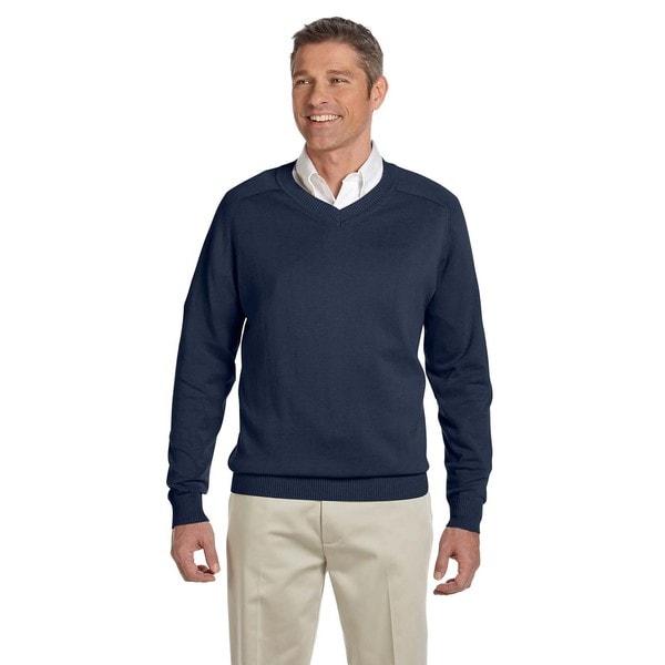 V-Neck Men's Navy Sweater