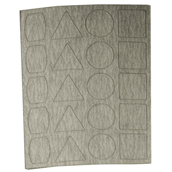 Proxxon 28824 240 Grit Sandpaper 3 Sheets