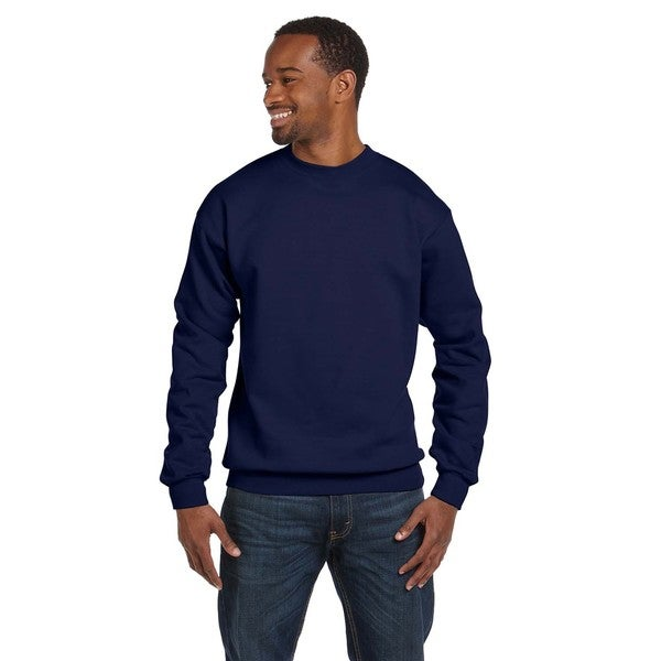 Ringspun Men's Crew-Neck Navy Sweater