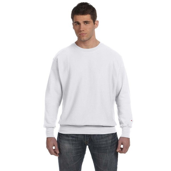 Men's Crew-Neck Silver Grey Sweater 20032362