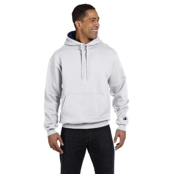 Men's Pullover White Heather/Sport Dark Navy Hood 20033678