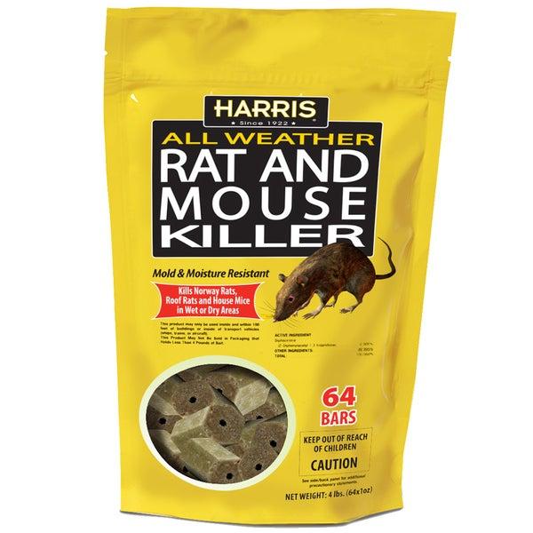 Harris HRB-64 Rat & Mouse Killer Bars 64-count