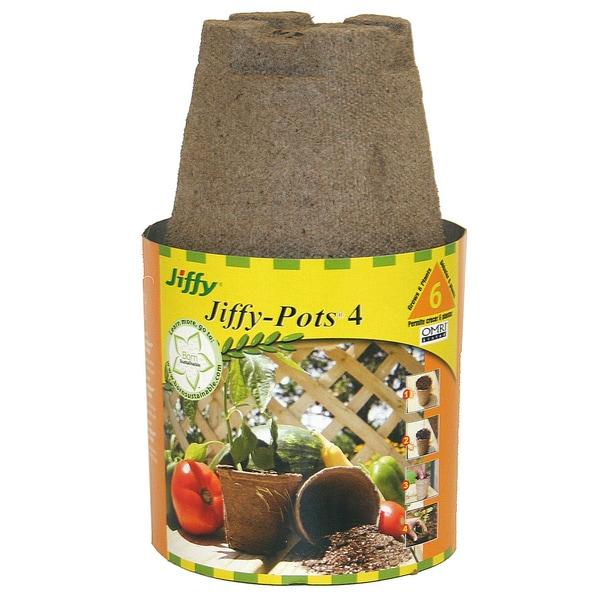 Jiffy JP406 4-inch Round Jiffy Pots