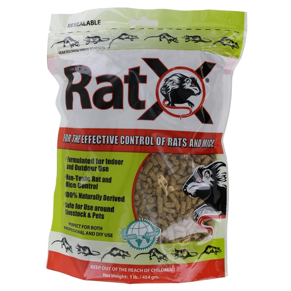 Rat X Ecoclearproducts.com 620101 1-pound Rat X Bag