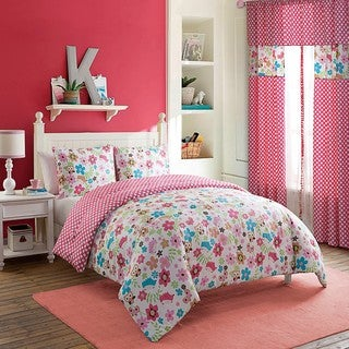 VCNY Magical Garden 3-piece Comforter Set
